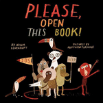 Please, Open This Book (Cover)